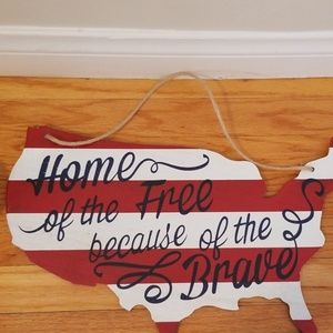 Other - Patriotic wall hanger